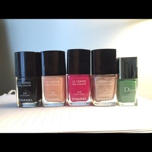Chanel nail colour and dior nail color